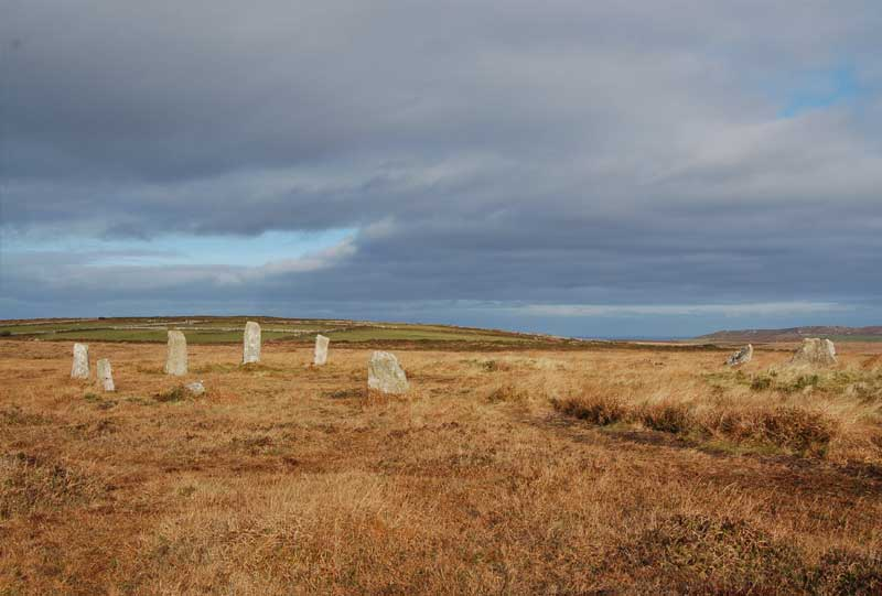 <br>The Nine Maidens Stone Circle., Penwith Local History Group
