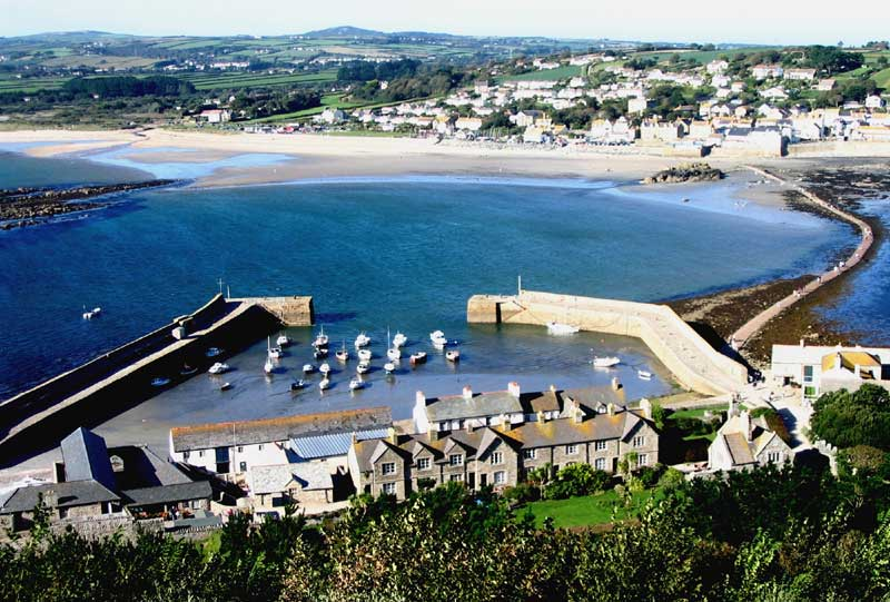 <br>Marazion from St Michael's Mount., Penwith Local History Group