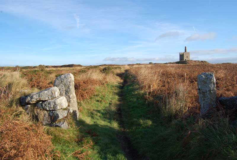 <br>Greenburrow Engine House, Ding Dong Mine., Penwith Local History Group