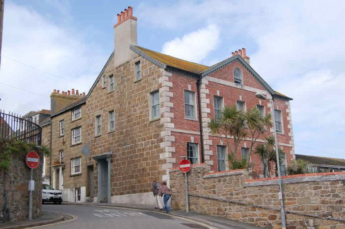 Chapel House, Chapel Street, Penzance. (photo: Ted Mole)