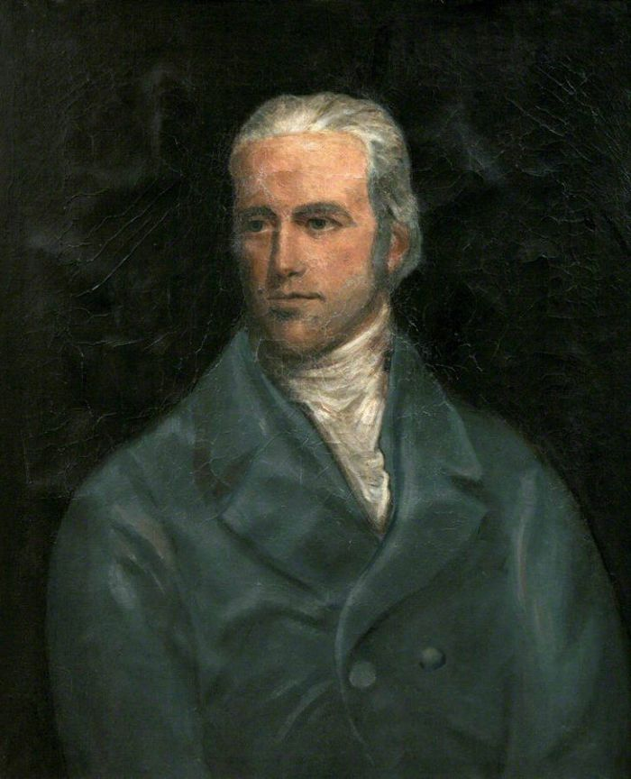 Davies Giddy (from a portrait in the collection of Penlee House and Gallery in Penzance)