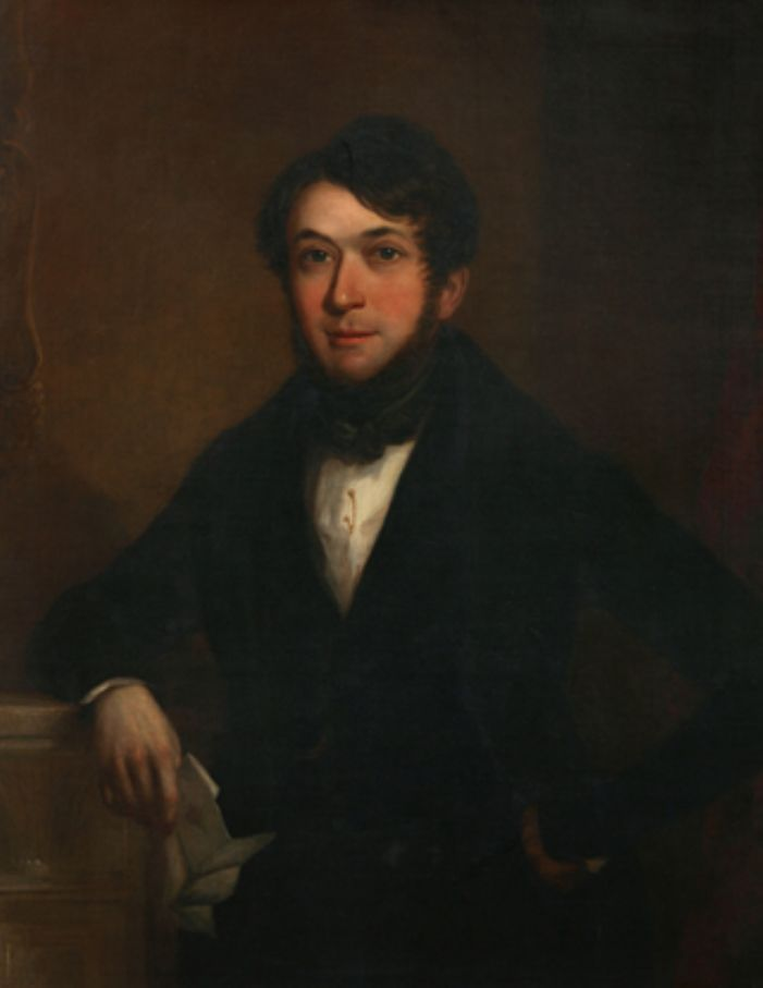 John Batten by Richard Pentreath, almost certainly painted in 1839 (courtesy of the Penlee House Gallery and Museum)