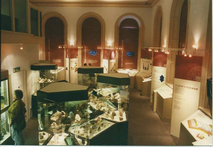 The Royal Geological Society of Cornwall Museum in St John's Hall (courtesy John Chapman Architectural Solutions)