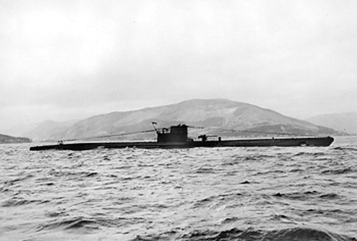 U-570, the same class boat as U-1209 and almost identical. U-570 was captured by the British (Wikipedia)