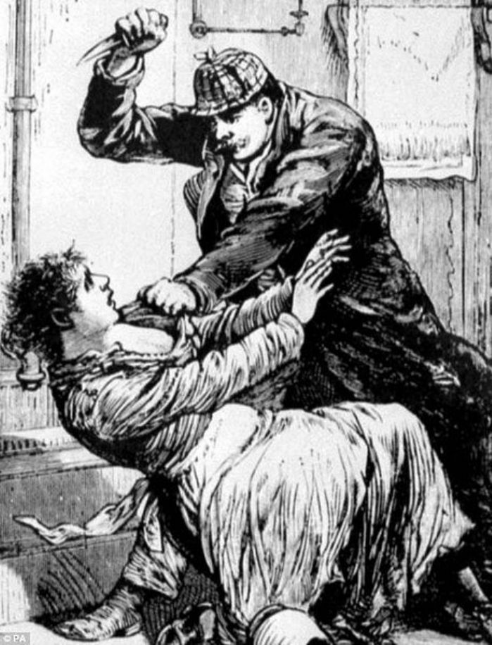"Jack the Ripper as pictured by the Police Gazette in 1888 (<a href=""https://commons.wikimedia.org/wiki/File:Jack_the_ripper.jpg"">Wikimedia</a>)"