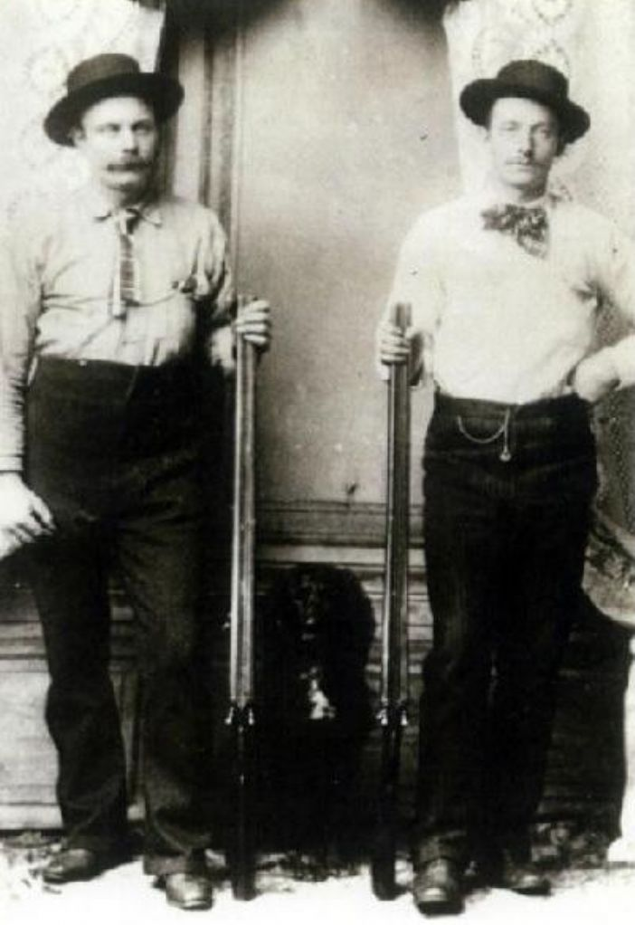 John Henry and Edwin Varker in Idaho