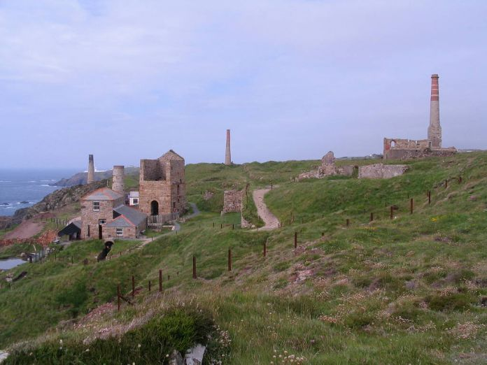 Levant Mine in 2010, picture Ted Mole