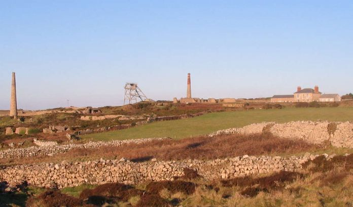 Botallack mine as it is today
