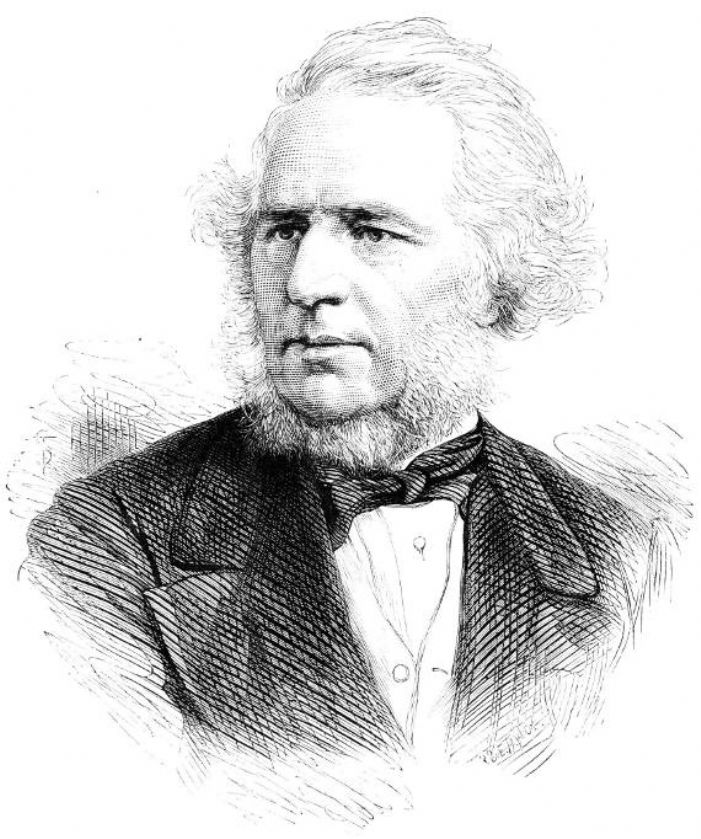 Charles Reed MP by A & E Taylor, Illustrated London News 2 April 1881