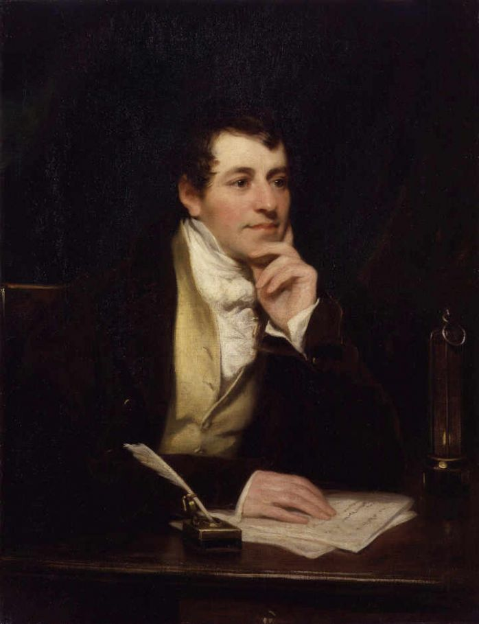 Sir Humphry Davy by Thomas Phillips via Wikimedia Commons