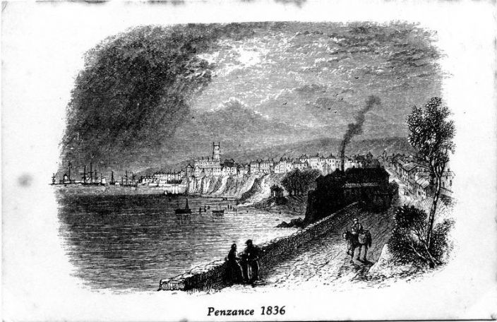 Penzance 1836, courtesy of Morrab Library Photo Archive
