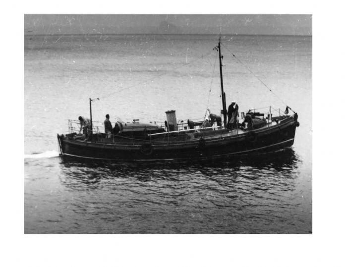 Pender Lifeboat (courtesy Cornwall County Council Clive Carter Collection, via cornishmemory.com)