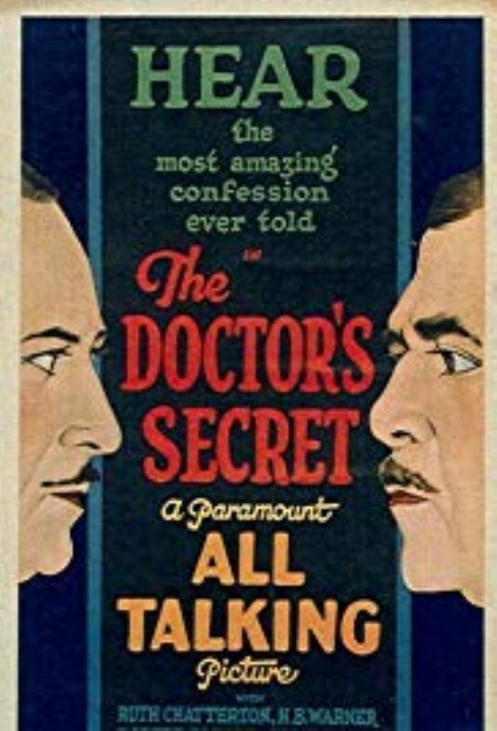 The Doctor's Secret, what does he know? (courtesy imdb.com)