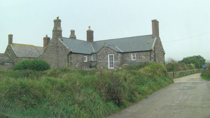 Botallack Manor, home of Squire Stephen Usticke (photo: Stuart Logan, used under Creative Commons)