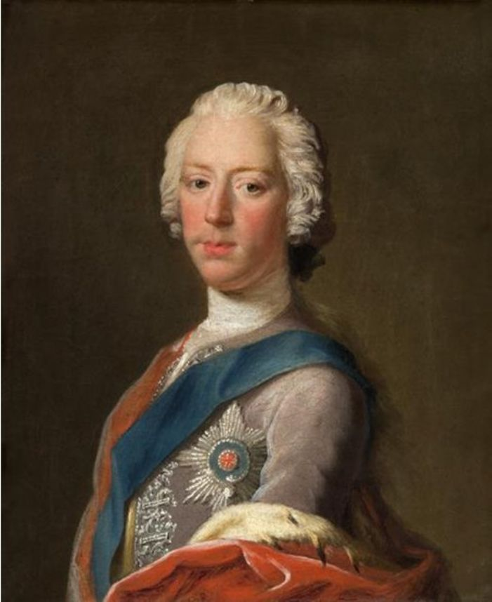 Prince Charles Edward Stuart by Allan Ramsay thought to have been painted in 1745 (public domain)