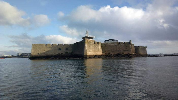 The Spanish fortress at Blavet, now Port Louis, in southern Brittany. (photo Gilles Wagener)