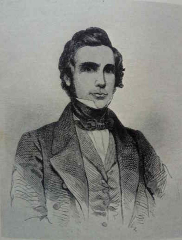 William Lovett, 1800-1877, from a woodcut, artist unknown