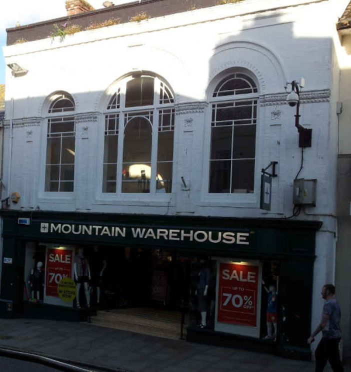 Penzance Jubilee Hall as it is today, bargains galore just as Bischofswerder intended. (photo Linda Camidge)