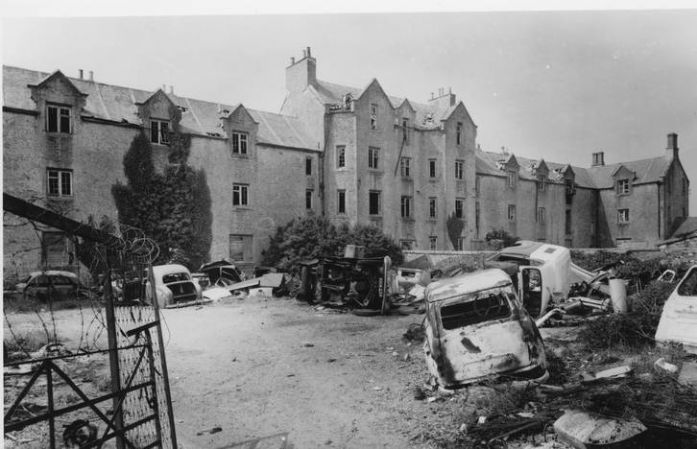 Madron Workhouse in the 1960s (photo courtesy of Morrab Library Photo Archive)