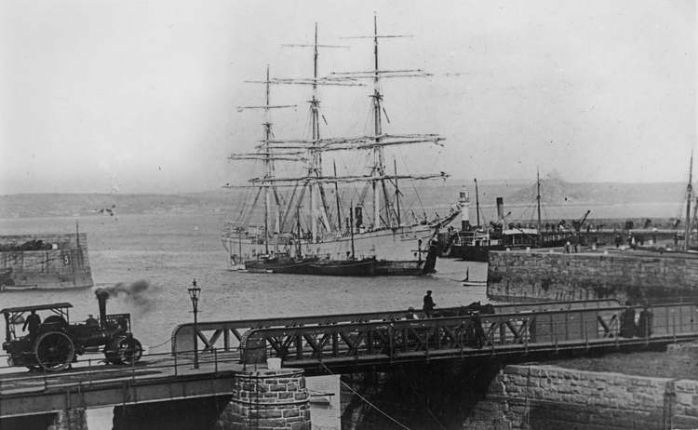 The Ross Bridge, Penzance, courtesy of Morrab Library Photo Archive