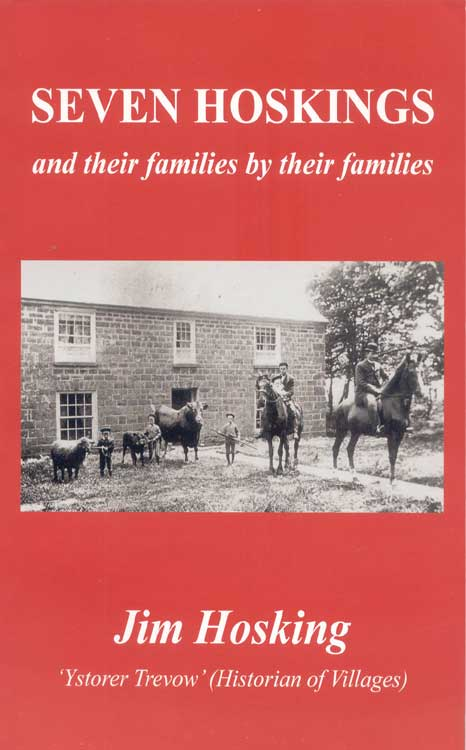 Seven Hoskings and their families by the families