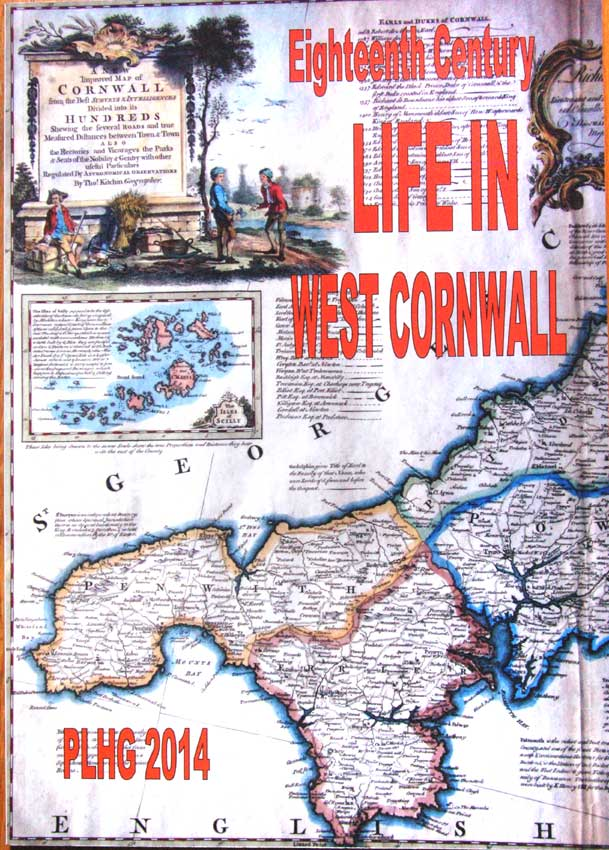 Eighteenth Century Life in West Cornwall. A Publication by the Penwith Local History Group